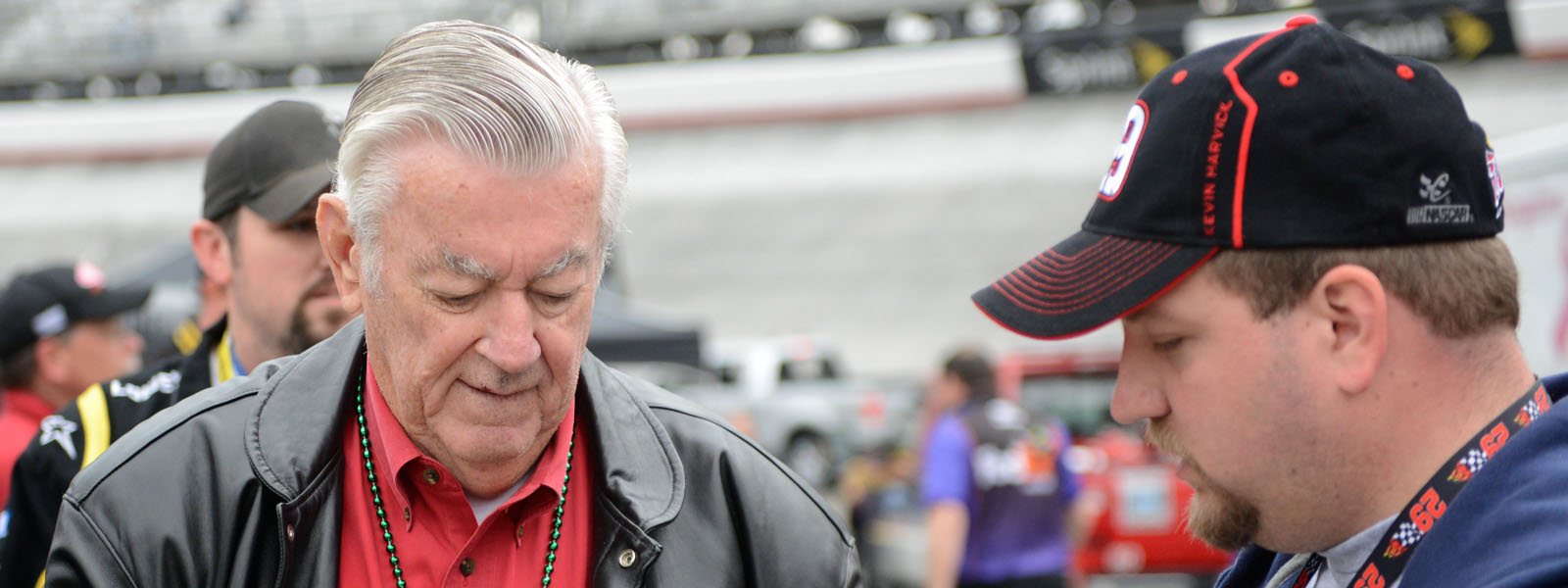 Bobby Allison at the 2013 Food City 500