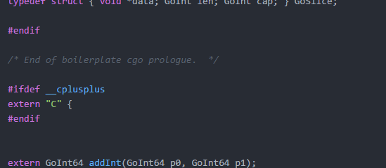 Calling Go Functions from Lisp