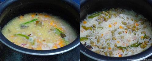how to make peas pulao recipe