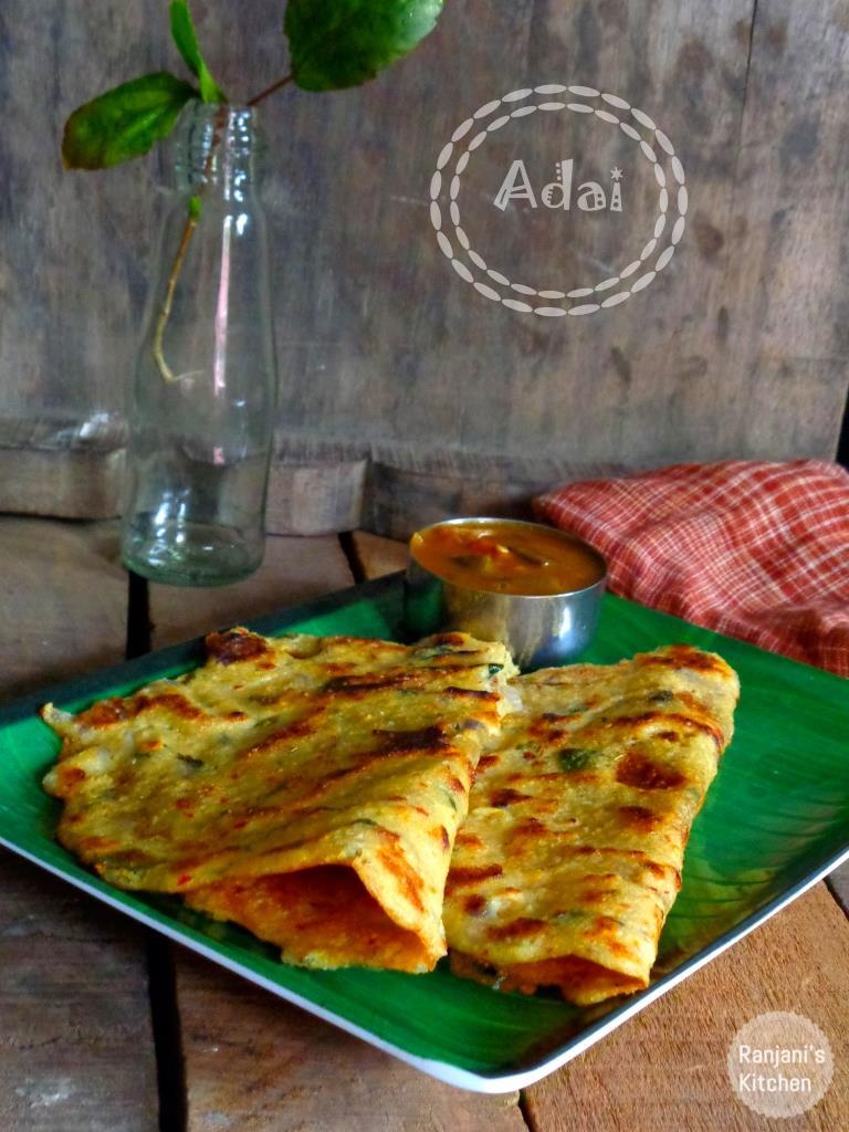 Adai | Breakfast recipes | Tiffin Recipes