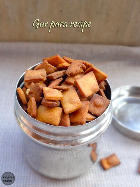 Gur Para Recipe | How to make Gur Para Recipe