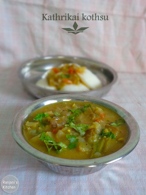 Kathrikai Kothsu | Brinjal recipes