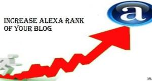 how to increase alexa ranking