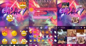 Galaxy Emoji keyboard