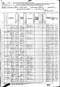 US 1880 Census of Clark County, IN