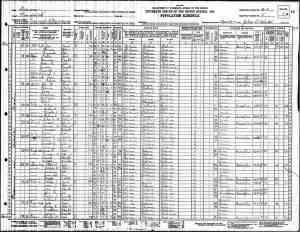 US 1930 Census of Cleburne County, AL