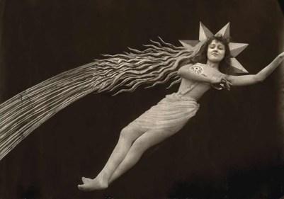 """""""L'étoile filante d'Eclipse de soleil en pleine lune"""", 1907"""