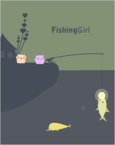 Fishing Girl screenshot