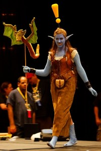 Troll quest giver,  MMO Costume Contest at Dragon*Con 2008. Photo BY-NC Les Howard
