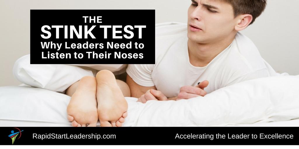 The Stink Test