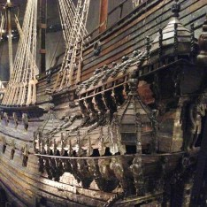 This ship sank in 1628 and was not raised until 1961. Yet 99% of the ship is original!