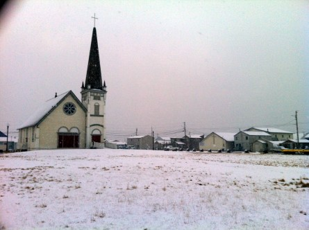 Nome has only 3,000 residents, but it's home to seven churches... and six bars.