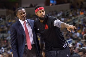 James Johnson frustrated with the Toronto Raptors