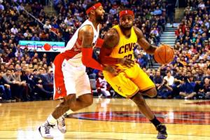 Raptors take on LeBron James and the Cleveland Cavaliers