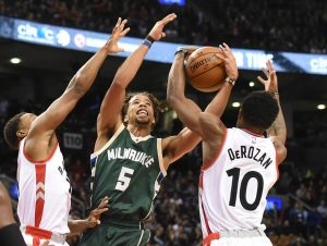 Post Game Report Card: Raptors hold off Bucks on route to 90-83 win