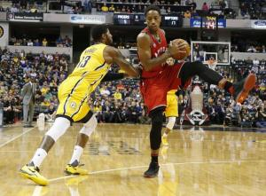 Raptors to face Pacers in first round