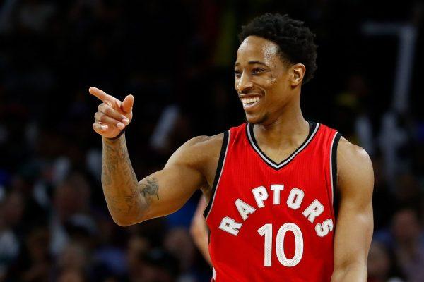 DeRozan's historic night propels Raptors past Bucks