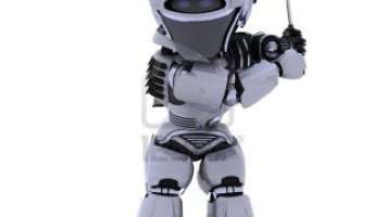Robot Makes a Whole in One, Its the start Of I Robot