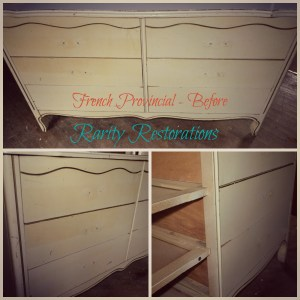 French Provincial Dresser - Before