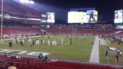 Raymond James Stadium Section 125 - Tampa Bay Buccaneers - RateYourSeats.com