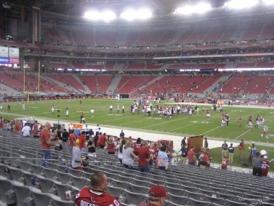 State Farm Stadium Section 106 - Arizona Cardinals - RateYourSeats.com