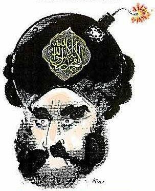 caricatures cartoon of Prophet Mohamed Muhamed