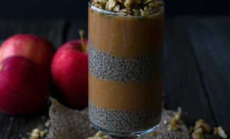 Apple Chia Pudding Parfait