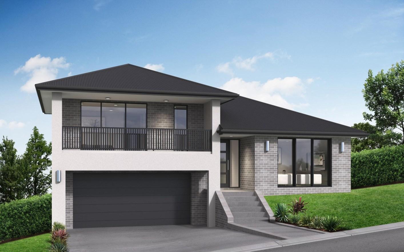 Paxton House Design   Split Level Homes   Sloping Blocks ...