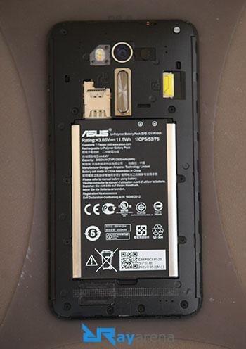 Asus Zenfone 2 Laser review battery