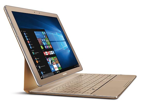 Samsung Galaxy TabPro S Gold Edition 2-in-1