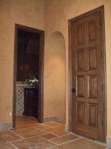 door finishing