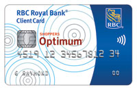 Shoppers Optimum RBC Debit Card