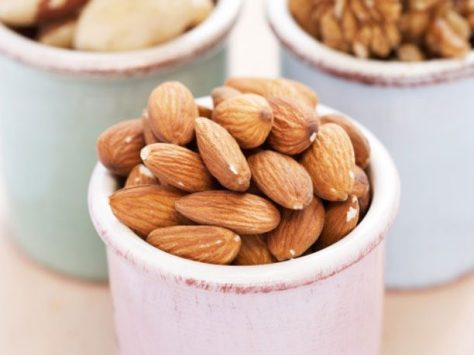 1. Almonds