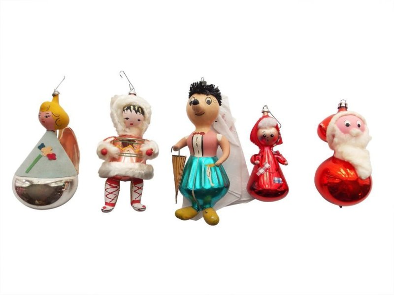 Large Of Vintage Christmas Decorations