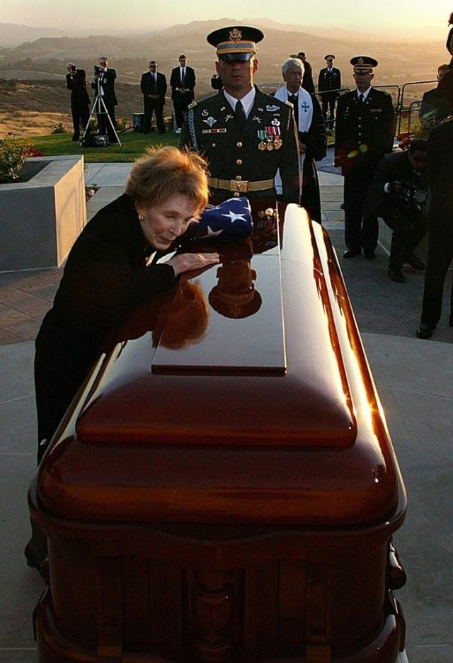 june 2016 courage of nancy reagan funeral
