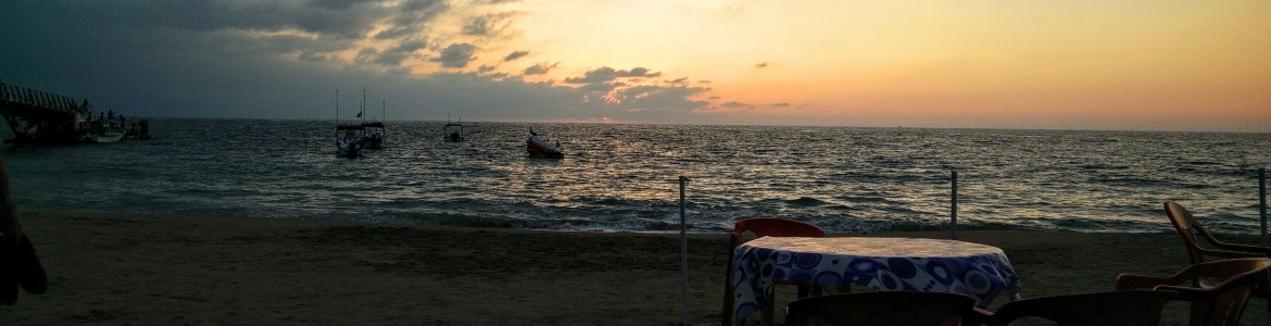 Puerto Vallarta and San Poncho both had epic sunsets over the ocean every night.