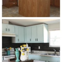 Mobile Home Cabinet Makeover