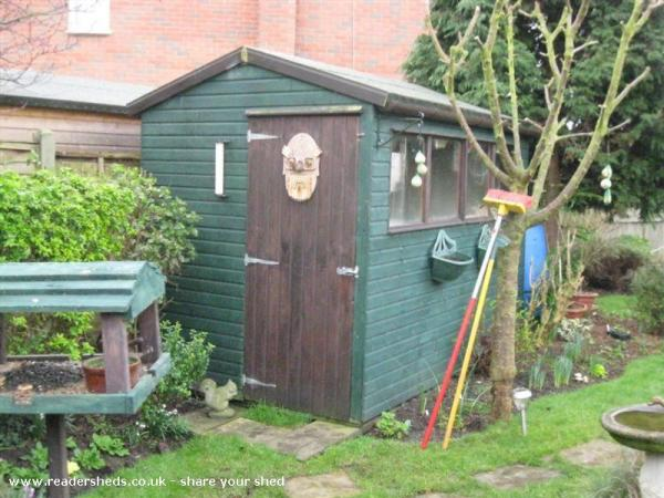 The Grumpy Old Man Shed - Doug Hitchman