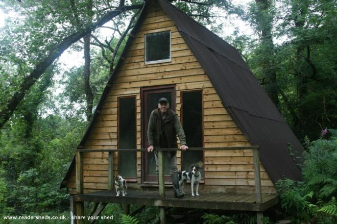 The lodge - malcolm stamp  - In our woodland valley