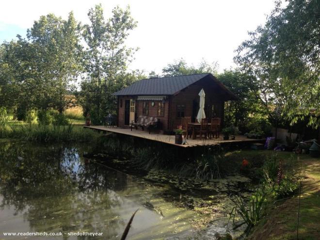 Otter Retreat  - Bill Cotterill - Back of garden