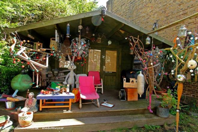 The Shed !  - Catherine Dupuy - Garden