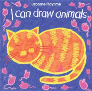 i can draw animals book usborne