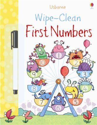 wipe clean first numbers usborne