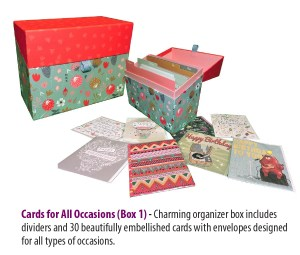 cards for a cause fundraiser box 1