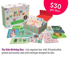 cards for a cause kids box