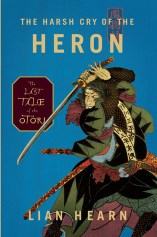 harsh cry of the heron by lian hearn