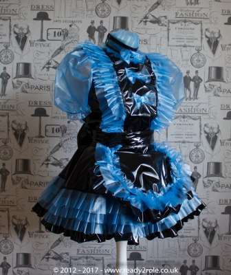 Sissy Dress Kimberley PVC by Ready2Role