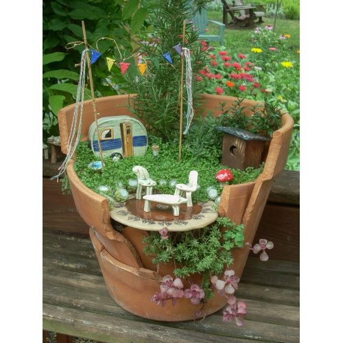Medium Crop Of Fairy Gardens In Pots