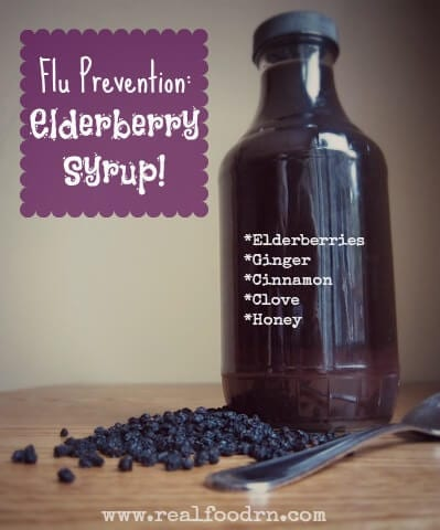 DIY Elderberry Syrup Recipe