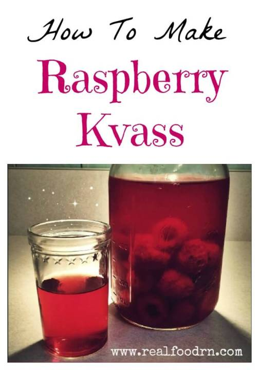 raspberry kvass.jpg How to make Raspberry Kvass